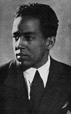 photo of Langston Hughes