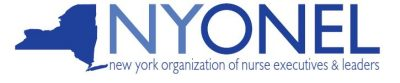 New York Organization of Nurse Executives and Leaders logo
