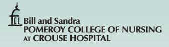 Pomeroy College of Nursing at Crouse Hospital logo