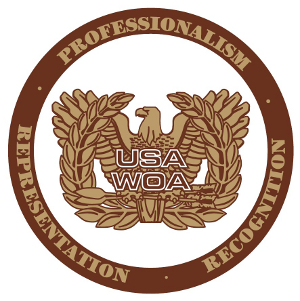United States Army Warrant Officers Association logo