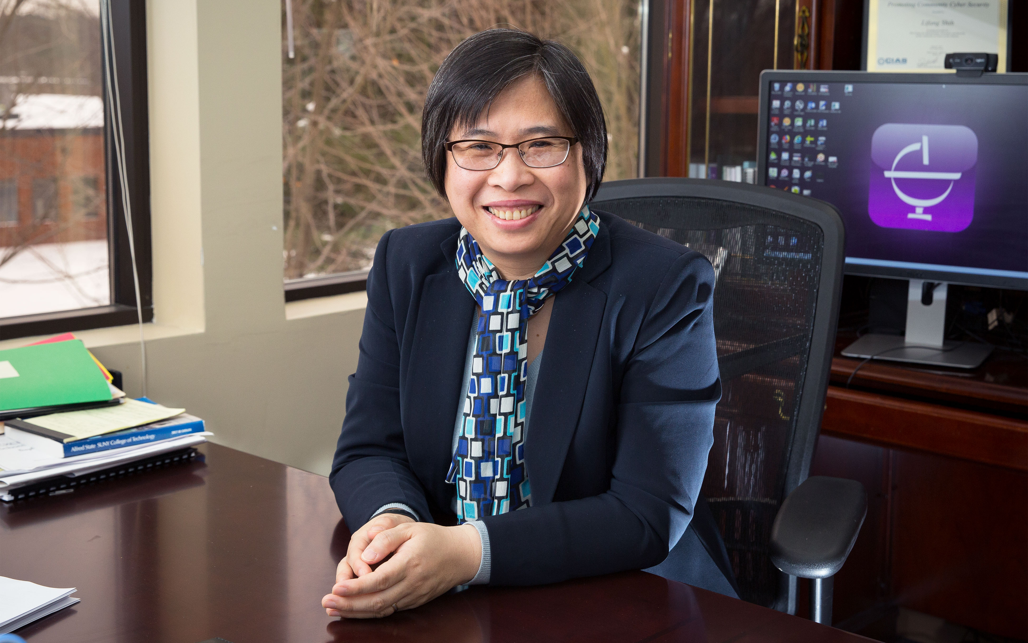 Li-Fang Shih, Dean, School of Undergraduate Studies