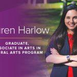 Promotional image of Lauren Harlow