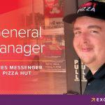 Promotional Image of James Messenger, Pizza Hut