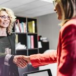 how to negotiate salary picture of 2 business women