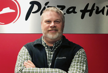 jason hammerlink at pizza hut headquarters
