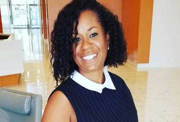 Black Nurses Rock Palm Beach Chapter President Angeline Bernard
