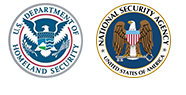NSA and Homeland Security seals