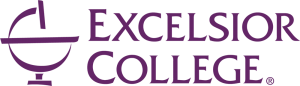 Excelsior College Logo in purple