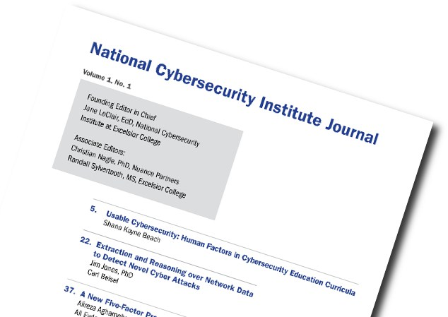 National Cybersecurity Institute Journal - Excelsior College