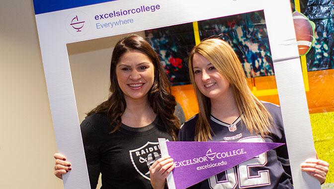 excelsior employees showcase team spirit