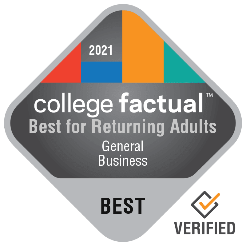 College Factual Rankings - Best for Returning Adults