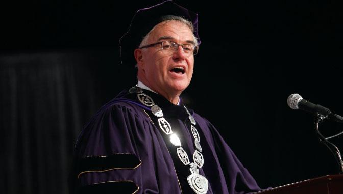 Excelsior College president, James N. Baldwin