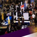 job fair/tradeshow floor