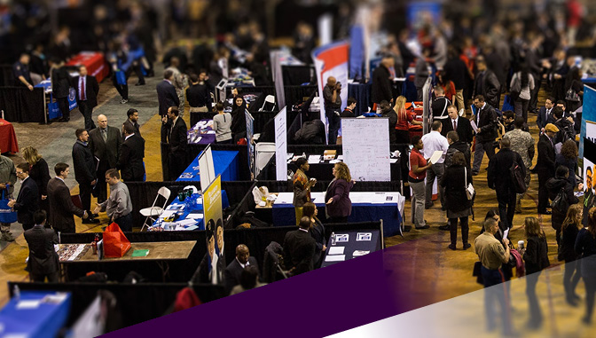job fair/tradeshow floor