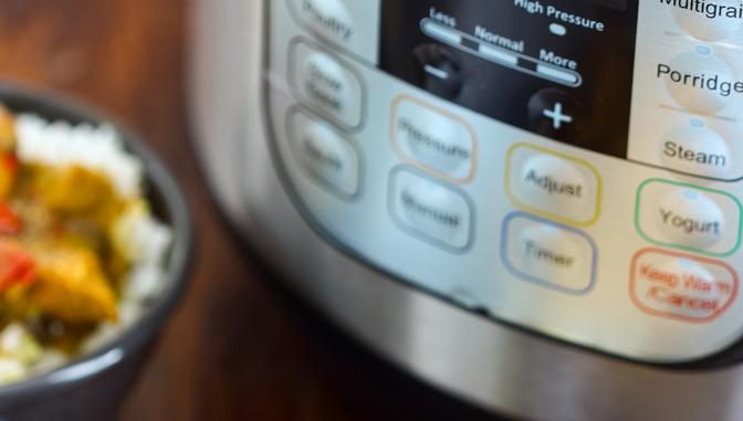 Instant Pot Buttons