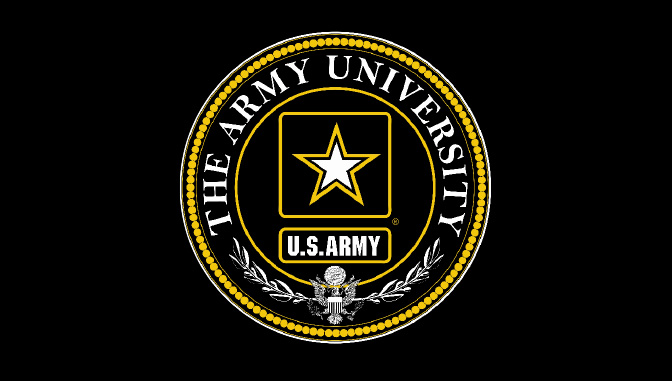 The Army University Logo