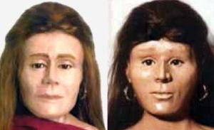 Images of Jane Doe facial reconstruction