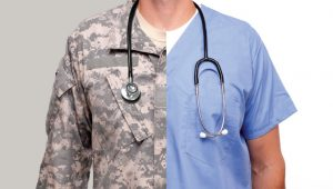 Image of the transition from servicemember to nurse
