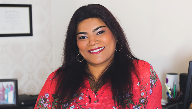 Amanda Alfred, MBA grad