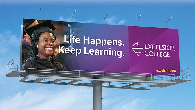 Excelsior College Billboard