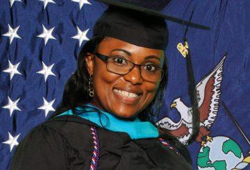 Dorothy Jimenez, Master of Public Administration graduate