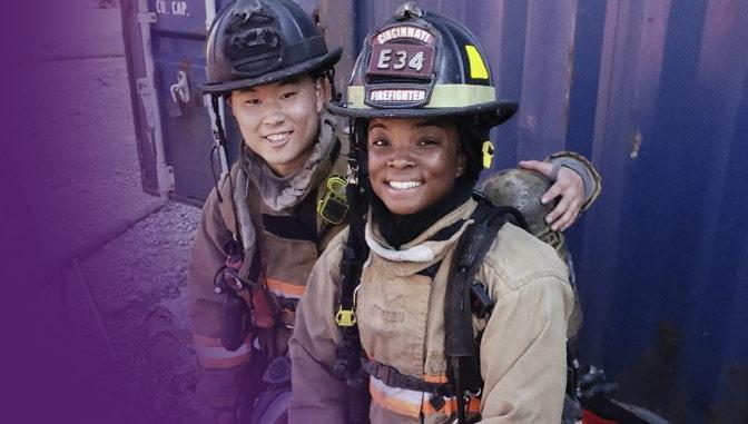 alexis rodgers, firefighter, associate in nursing