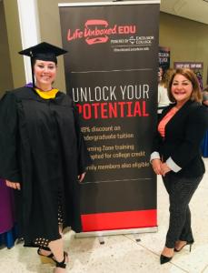 Lifeunboxed.edu Pizza Hut Graduate at Commencement