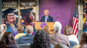 Congressman Tonko addresses Excelsior Staff and Faculty