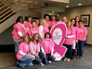 Excelsior College Staff Go Pink for Breast Cancer Awareness