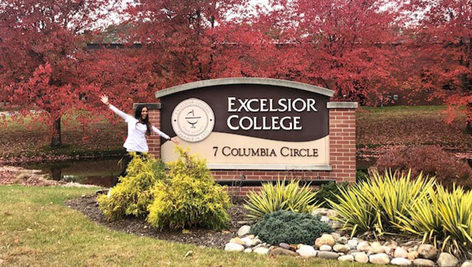 Laura Davis at Excelsior after passing CPNE