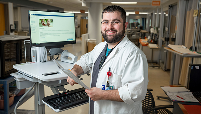 Zach DeBartolo, Nursing Informatics