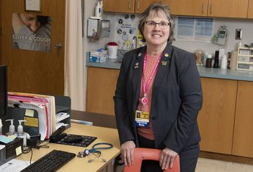 Lou Ann Gleason, Excelsior Nurse