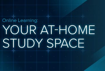creating at at home study space