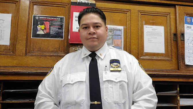Guillermo Rincon, Seargant, NYPD