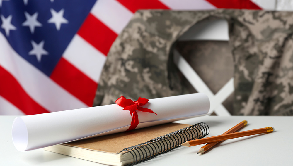 Online college for veterans is an important way to transition back to civilian life.