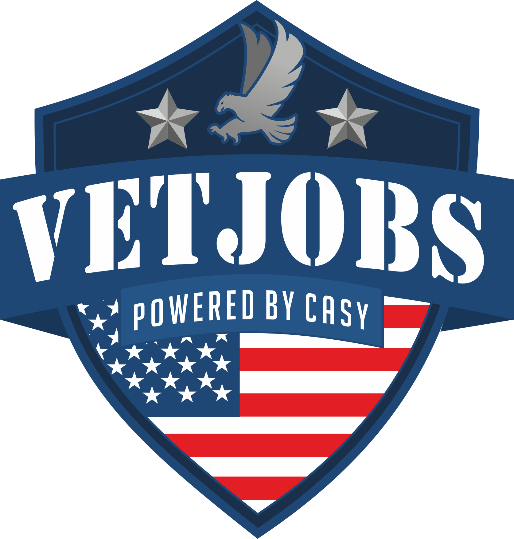 VetJobs Powered by Corporate America Supports You (CASY) logo