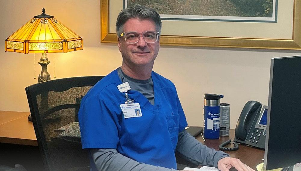 Steve Marciano, 2018 bachelor of science in health sciences grad