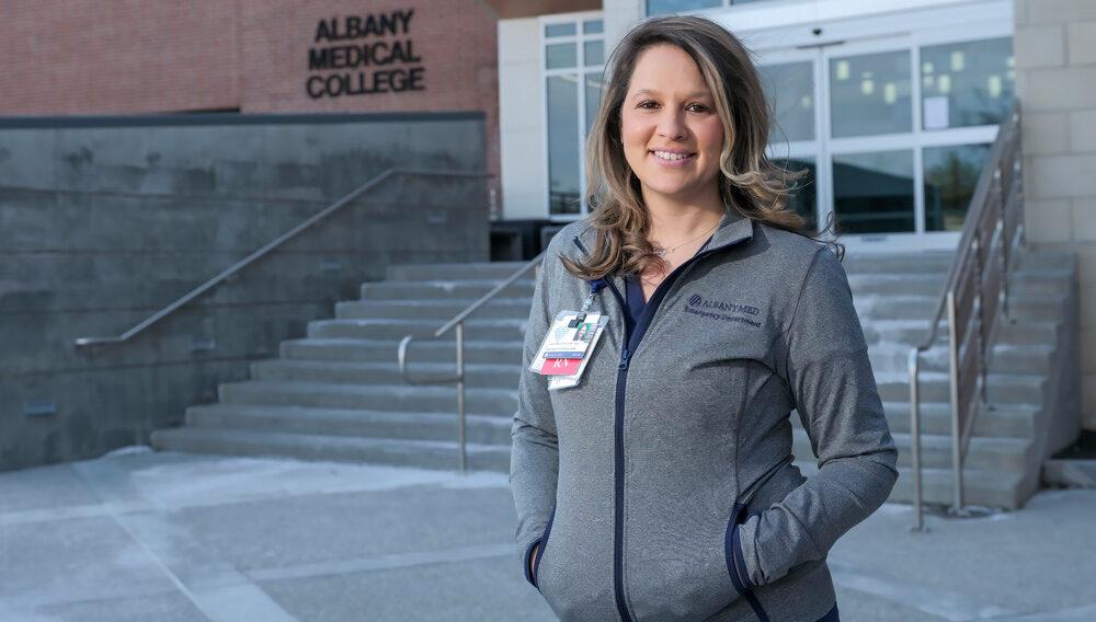 Kaylin Dawson, nursing grad and sexual assault nurse coordinator