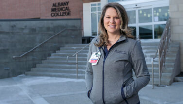 Kaylin Dawson, nursing grad and sexual assault nurse coordinator