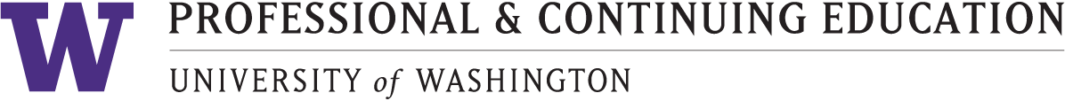 University of Washington Professional & Continuing Education logo