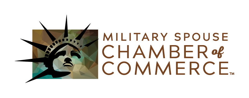 United States Military Spouse Chamber of Commerce logo